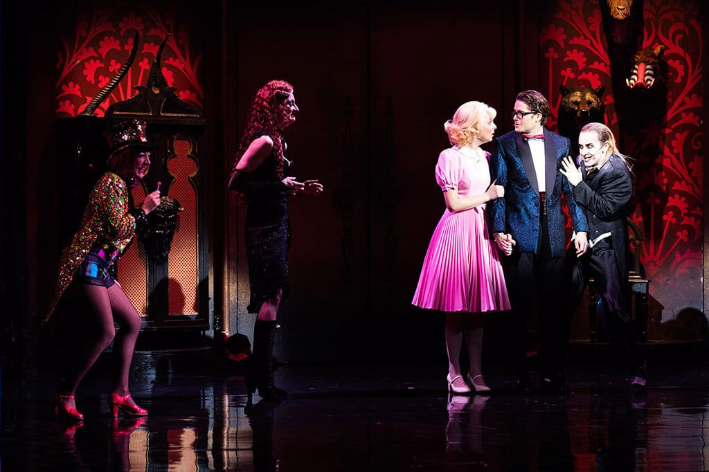 play review the rocky horror show Most know it as the rocky horror picture show, released in 1975 the same year  as it opened on broadway but before the picture show, there.