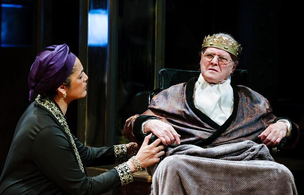 Richard III Arcola Theatre. Photo Alex Brenner