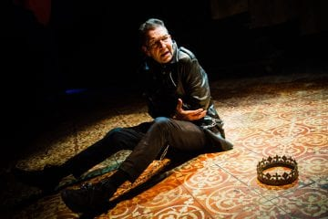 Richard III Arcola Theatre. Photo Alex Brenner