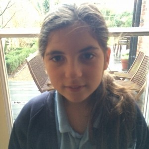 Profile photo of Hattie Bolchover (age 12)
