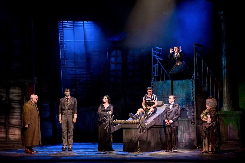 Addams Family Uk Tour  Musical